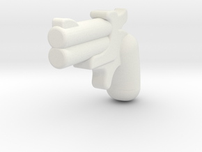 derringer1 in White Strong & Flexible
