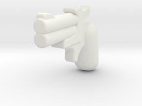 derringer1 in White Strong & Flexible