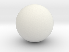 test ball tut1 in White Strong & Flexible