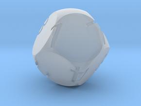 Alt D8 Sphere Dice in Smooth Fine Detail Plastic
