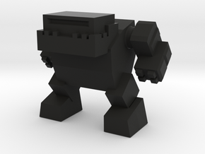 Robot 0042 Mech Bot v1 Bulldog in Black Strong & Flexible