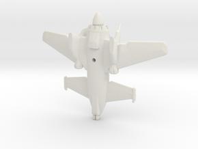 SkyLance Fighter Plane in White Strong & Flexible