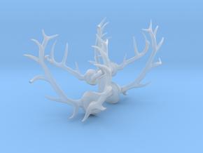 1/48 Elk and Deer antlers in Smooth Fine Detail Plastic