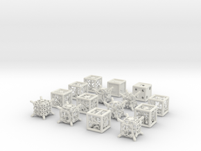 Grid Die All Pack 6 of 13 in White Strong & Flexible