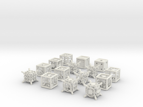 Grid Die All Pack 5 of 13 in White Strong & Flexible