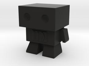 Robot 0045 Basic Robot Fast Forward Bot in Black Strong & Flexible