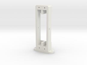 Ribbon motor frame in White Natural Versatile Plastic
