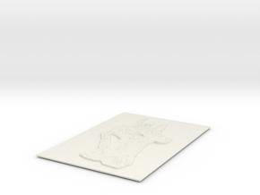 CA Art Solutions in White Natural Versatile Plastic