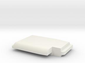 WAX3 Compatible Peeler Handle Part 2 of 2 in White Natural Versatile Plastic