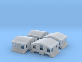 A37 Narrow Bombay roof caboose cupola, MTL in Smooth Fine Detail Plastic