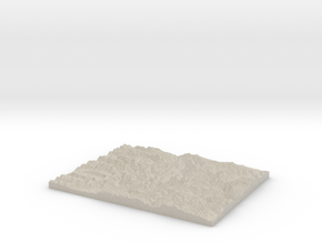 Model of Slate Creek in Sandstone