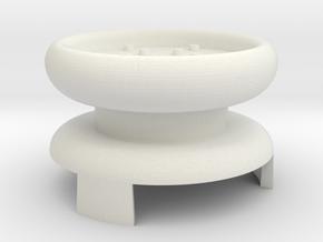 XB Extender Knob in White Natural Versatile Plastic
