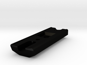 MTM-WTM Adapter in Matte Black Steel
