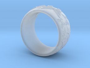 Butterfly Ring One in Smooth Fine Detail Plastic
