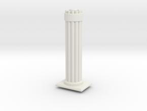 Gattlen Cannon for Turrent in White Natural Versatile Plastic