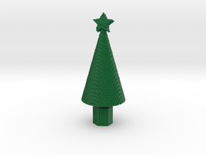 Small minecraft xmas tree in Full Color Sandstone