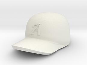 ball cap in White Natural Versatile Plastic