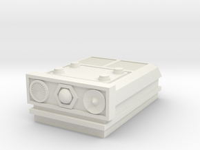 Tracking Plate for turret in White Natural Versatile Plastic