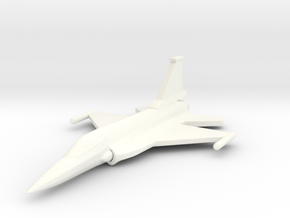 1/285 (6mm) JF-17 Fighter  in White Strong & Flexible Polished
