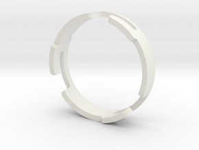 Fenix_20.6_Ring in White Natural Versatile Plastic