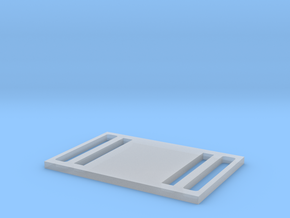 Double Buckle in Smooth Fine Detail Plastic