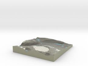 Terrafab generated model Mon Dec 09 2013 19:11:26  in Full Color Sandstone