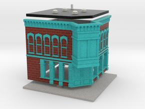 Test Store - Z scale in Full Color Sandstone
