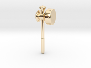 Megaton Hammer in 14K Yellow Gold