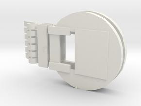 Fluebasev5 (Narrow mouth version) in White Strong & Flexible