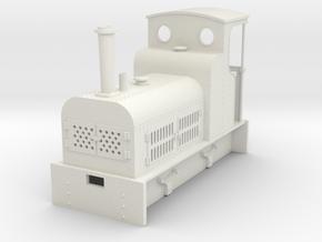 Gn15 Bagnal petrol loco  in White Natural Versatile Plastic