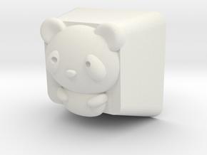 Cherry MX Panda Keycap in White Natural Versatile Plastic