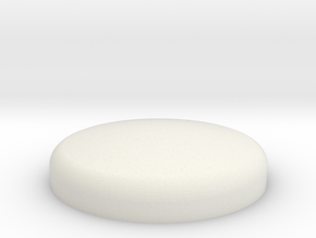 WAX Pot Lid 1 of 2 in White Natural Versatile Plastic