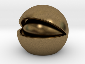 Nut in Natural Bronze