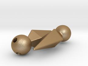 Marik Ishtar Earrings / Ishizu Ishtar Pendants  in Matte Gold Steel