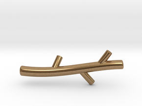 Stick in Natural Brass
