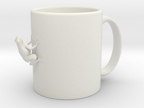 Cup-frog in White Natural Versatile Plastic