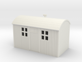 NZR Workmens Hut 1:120 in White Strong & Flexible