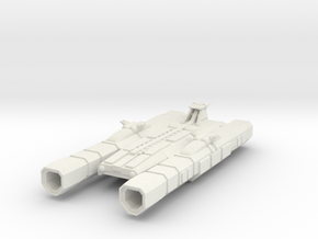 Bayer Heavy Cruiser in White Natural Versatile Plastic