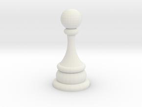 javontae pawn in White Natural Versatile Plastic