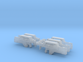 28mm M41a Pulse Rifle (x5) in Smooth Fine Detail Plastic