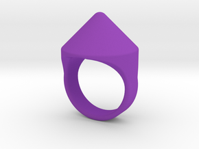 Awesome Teaser Ring in Purple Processed Versatile Plastic