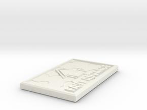 WAR GODS command token FAST ADVANCE in White Natural Versatile Plastic