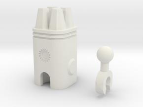 Sunlink - 3mm:4 Gun Pod in White Natural Versatile Plastic