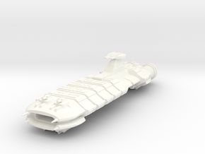 Europa Light Carrier in White Strong & Flexible Polished