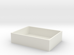 SimpleBox in White Natural Versatile Plastic
