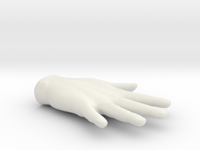hand in White Natural Versatile Plastic