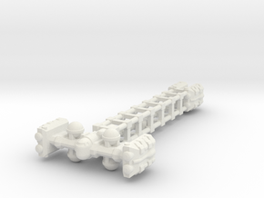 Cargo Tug: Unloaded in White Strong & Flexible