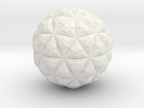 Tetra Sphere in White Strong & Flexible