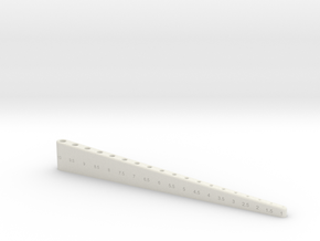 Drill bit holder in White Natural Versatile Plastic