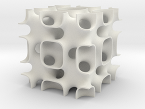 Schoen's IWP surface in White Natural Versatile Plastic